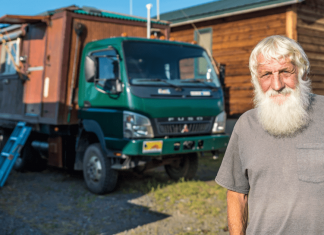 A Retired Couple Travels the World in Their House Truck