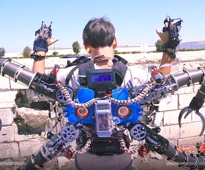 Real-Life Doctor Octopus Suit