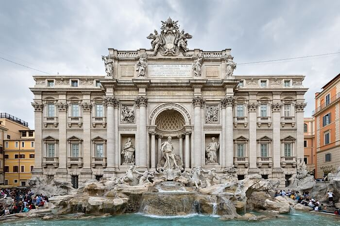 Trevi Fountain - Luckiest Places in the World