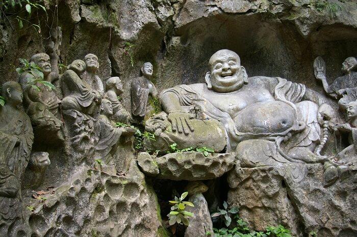 Lingyin Temple, Fei Lai Feng Scenic Area, China