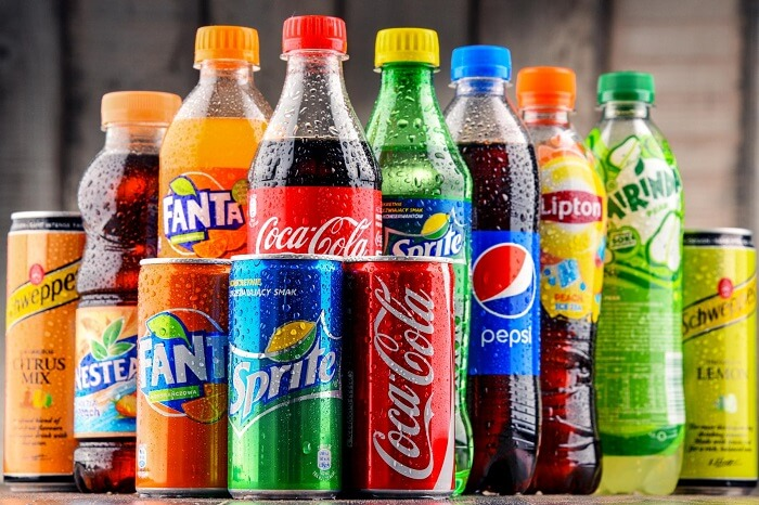 Carbonated drinks - Foods to Avoid Before Exercise