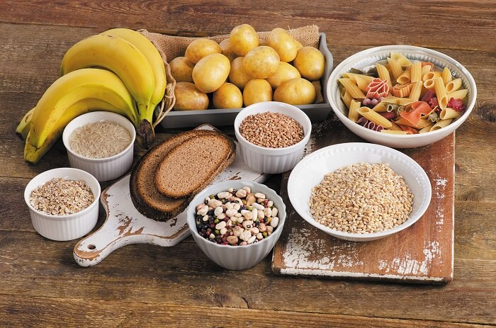 Heavy carbs - Foods to Avoid Before Exercise