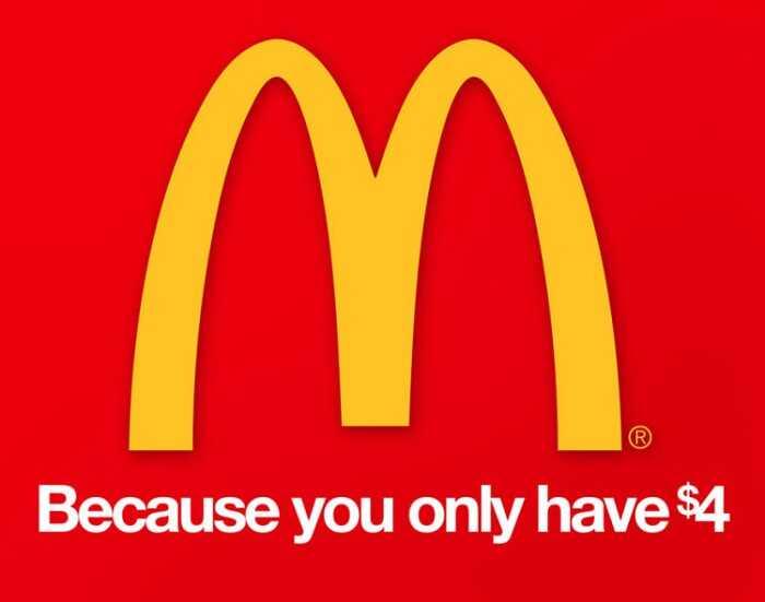 McDonalds - Hilariously Honest Brand Slogans