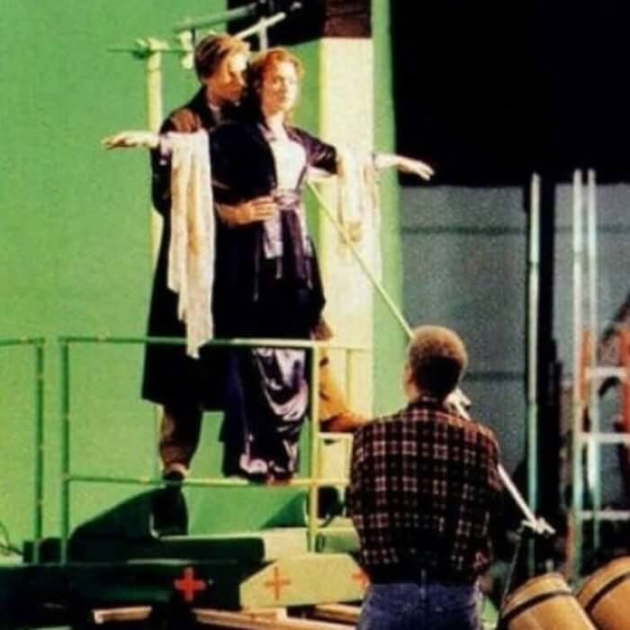 Titanic - Behind the Scene Photos of Hollywood