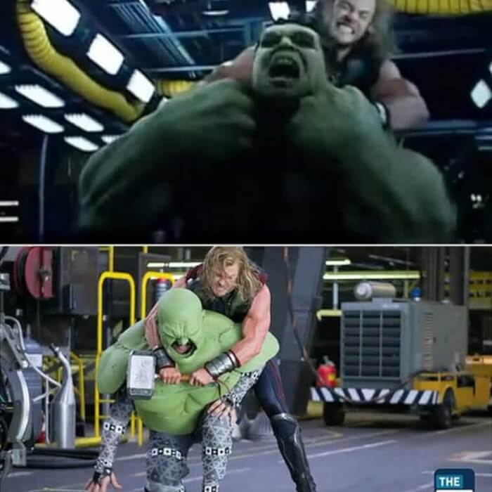 The Avengers - Behind the Scene Photos of Hollywood