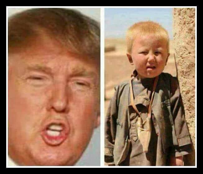 Donald Trump is a Pakistani Orphan