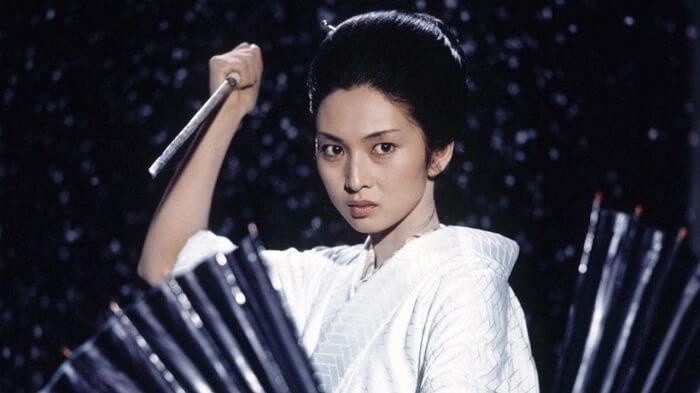 Yuki Kashima - Lady Snowblood (1973) - Best Female Assassin Movies