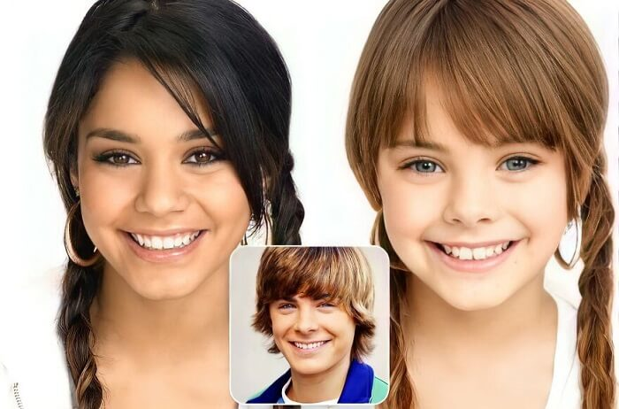 Gabriella Montez And Troy Bolton (High School Musical) - Fictional Couples' Kids