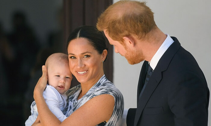 Archie - Meghan and Harry